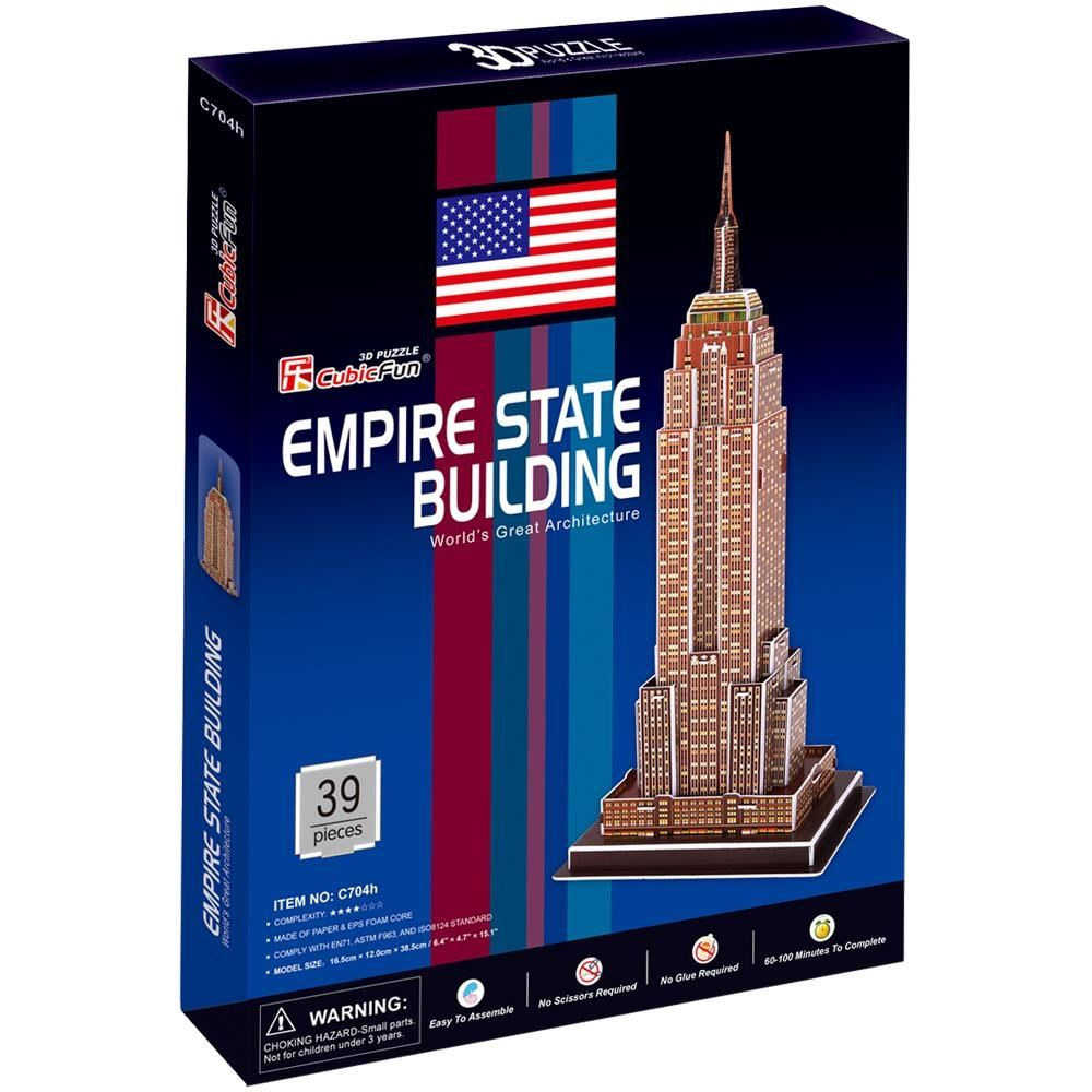 Empire State Building 3D Maket