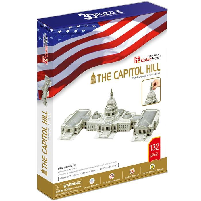 The Capitol Hill 3D Maket