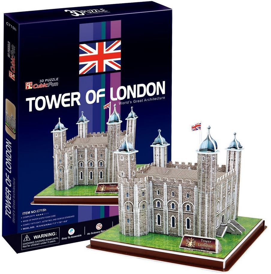 Tower Of London 3D Maket